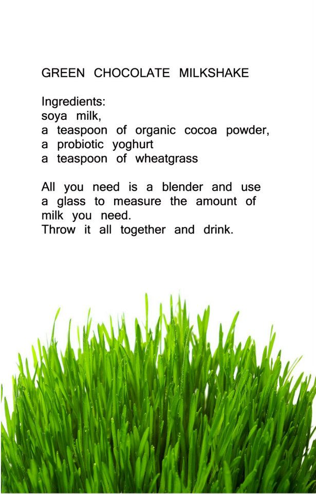 Recepies Wheatgrass 11